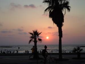 Sonnenuntergang, Tel Aviv