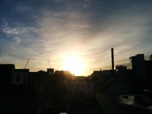 London am Morgen