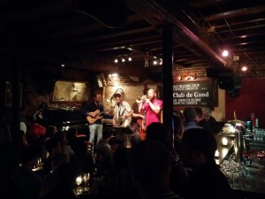 Jazz Jam Session im Hot Club de Gand, Ghent
