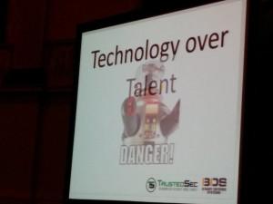 Keynote, Dave Kennedy, BruCON Ghent