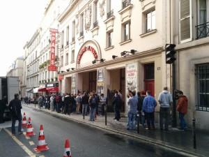 Gopher vor dem Théâtre de Paris. #dotGoEu