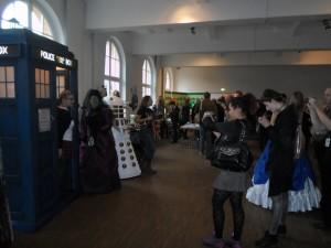 Cosplayer mit richtig guten Kostümen waren natürlich auch da. #Timelash #DoctorWho