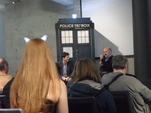 Panel mit Nick Briggs (u.a. die Stimme der Daleks und der Judoon). #Timelash #DoctorWho