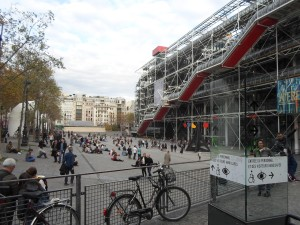 Centre Georges Pompidou, Paris.