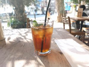 Iced English Breakfast Tee, Le Pain Quotidien, London