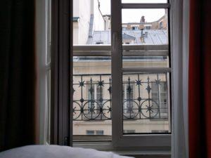Blick aus meinem Hotelfenster, Paris.