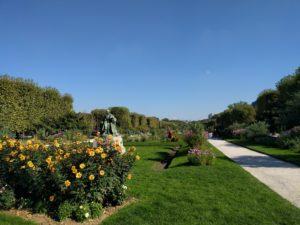 Der Park von Jardin des Plantes.