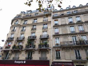 Häuser, wie Du sie in Paris erwartest.