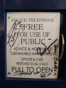 Nicht nur eine TARDIS war da.