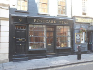 Postcard Teas, Mayfair (http://www.postcardteas.com/)