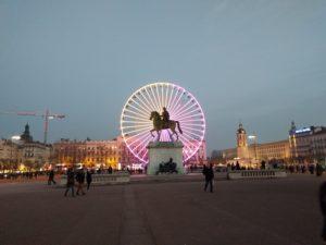 Ludwig XIV. auf dem Place Bellecour.