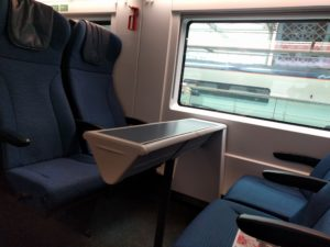 Im neuen Eurostar e320