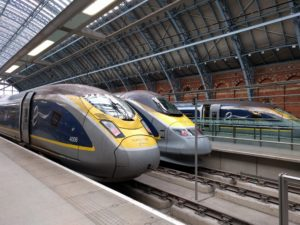 Eurostar London St Pancras.