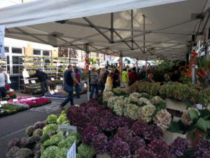 Columbia Road Flower Market.