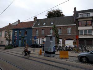 Eine belgische TARDIS.