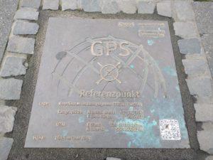 GPS Referenzpunkt, Kassel.