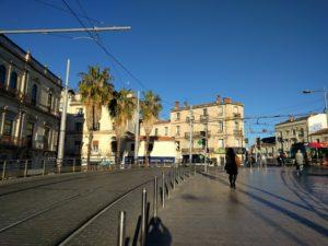 Montpellier, die Sonne scheint, das Haar sitzt ... ;)