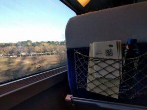 Im TGV auf dem Weg nach Hause ...