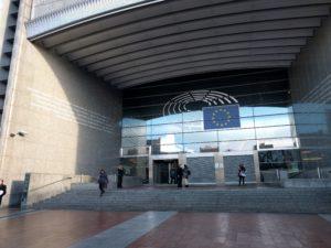 Das Europäische Parlement.
