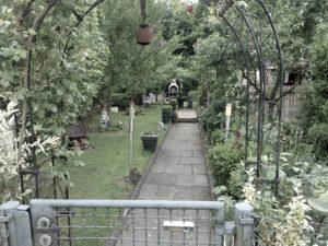 Kleingartenanlage im Ruhrgebiet