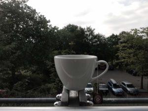 Erster Tea-Break an der RUB