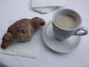 Hinreichend Koffeiniert, der zweite Tag kann beginnen