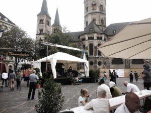 Weinfest auf dem Münsterplatz