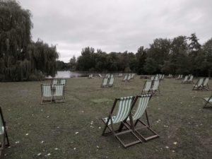 Klischee: englischer Sommer -- nein, Herbst im Regents Park.
