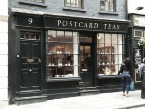 Postcard Teas, Mayfair.