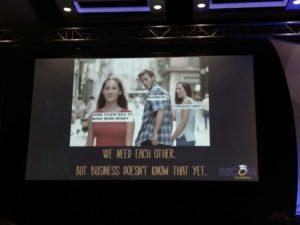 Keynote von Pete Herzog - They're All Scorpions - mit sehr viel wahrem.
