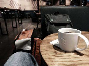 Starbucks, leider kein schwarzer Tee ...