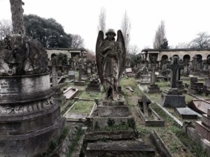 Weeping Angel @ Brompton Cemetery