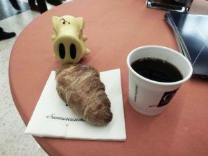 Französisches Frühstück mit Snort