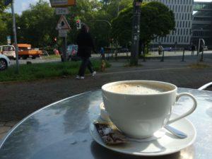 Café Ferdinand, den Tag Beginnen.
