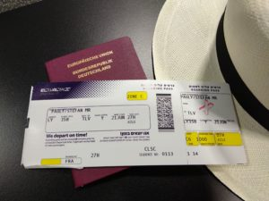 Security check done, jetzt Warten aufs Boarding ...