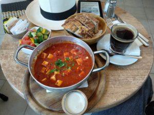 Frühstück im Café Lucia (קפה לוסיה)