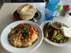 Abu Dabi, vermutlich bestes Hummus der Stadt