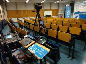 Video Mixing in Hörsaal 5