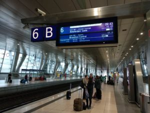 ICE 16 ab Frankfurt Flughafen Fernbahnhof