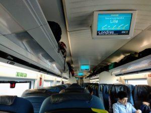 Eurostar 9141 ab Bruxelles-Midi