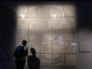 Map of the Moon von Hugh Percy Wilkins