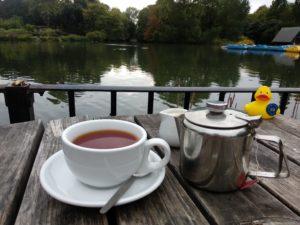 Tee im Battersea Park