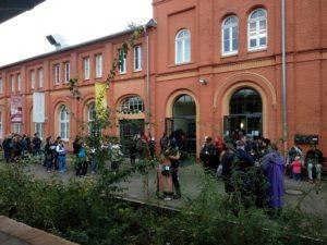 Südflügel des Kasseler KulturBahnhof