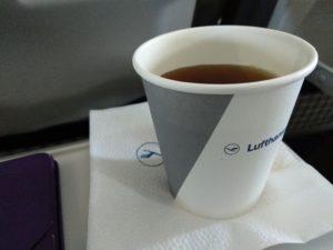 Tee irgendwo über Luxemburg.