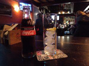 Alkoholfrei im Michael Collins Irish Pub.