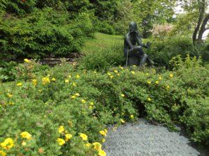 Das Grab von James Joyce.