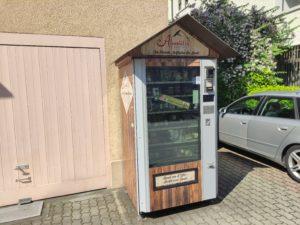 Alpomat – der kleinste Hofladen der Stadt.
