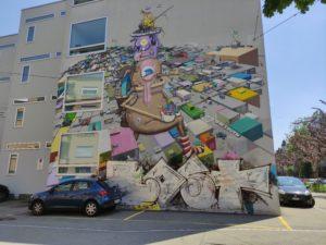 Street Art vom Künstlerduo One Truth.