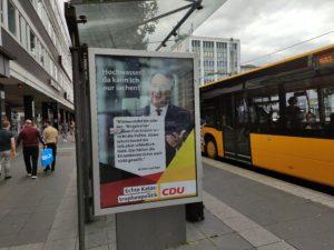 """""""Wahlwerbung"""" (Bertha-von-Suttner-Platz)"""