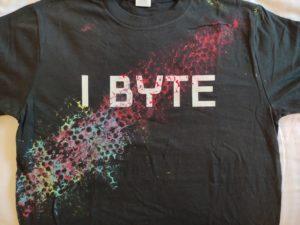 Konferenz-T-Shirt. 100 % Handgemacht.
